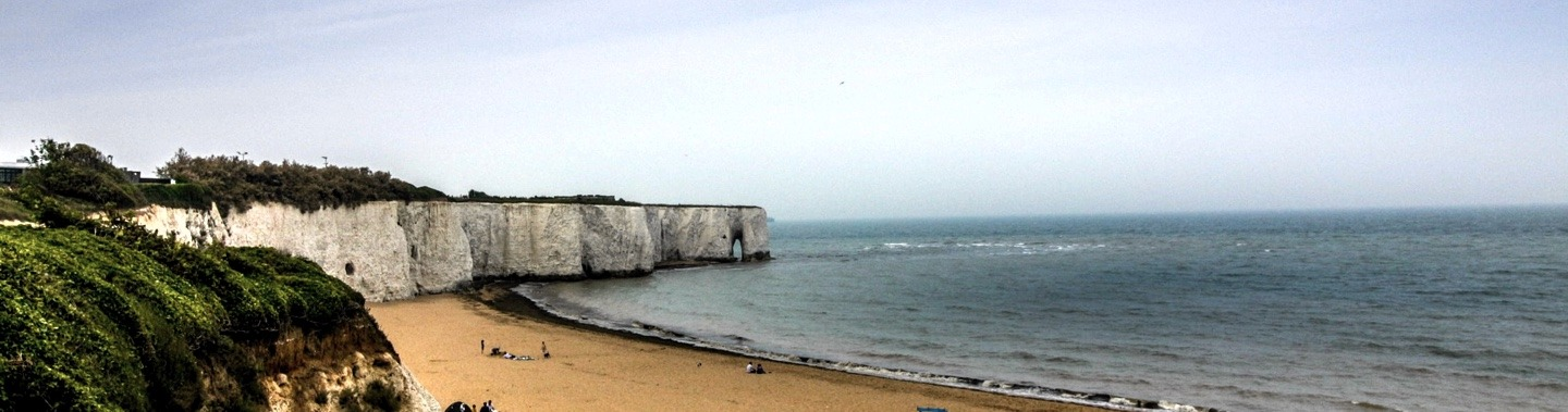 Smugglers caves at Broadstairs