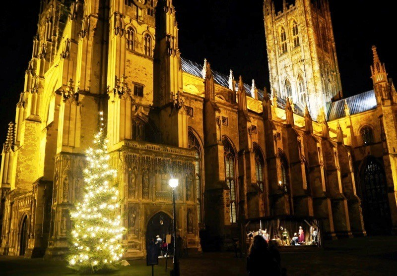 Canterbury Cathedral at Christmas